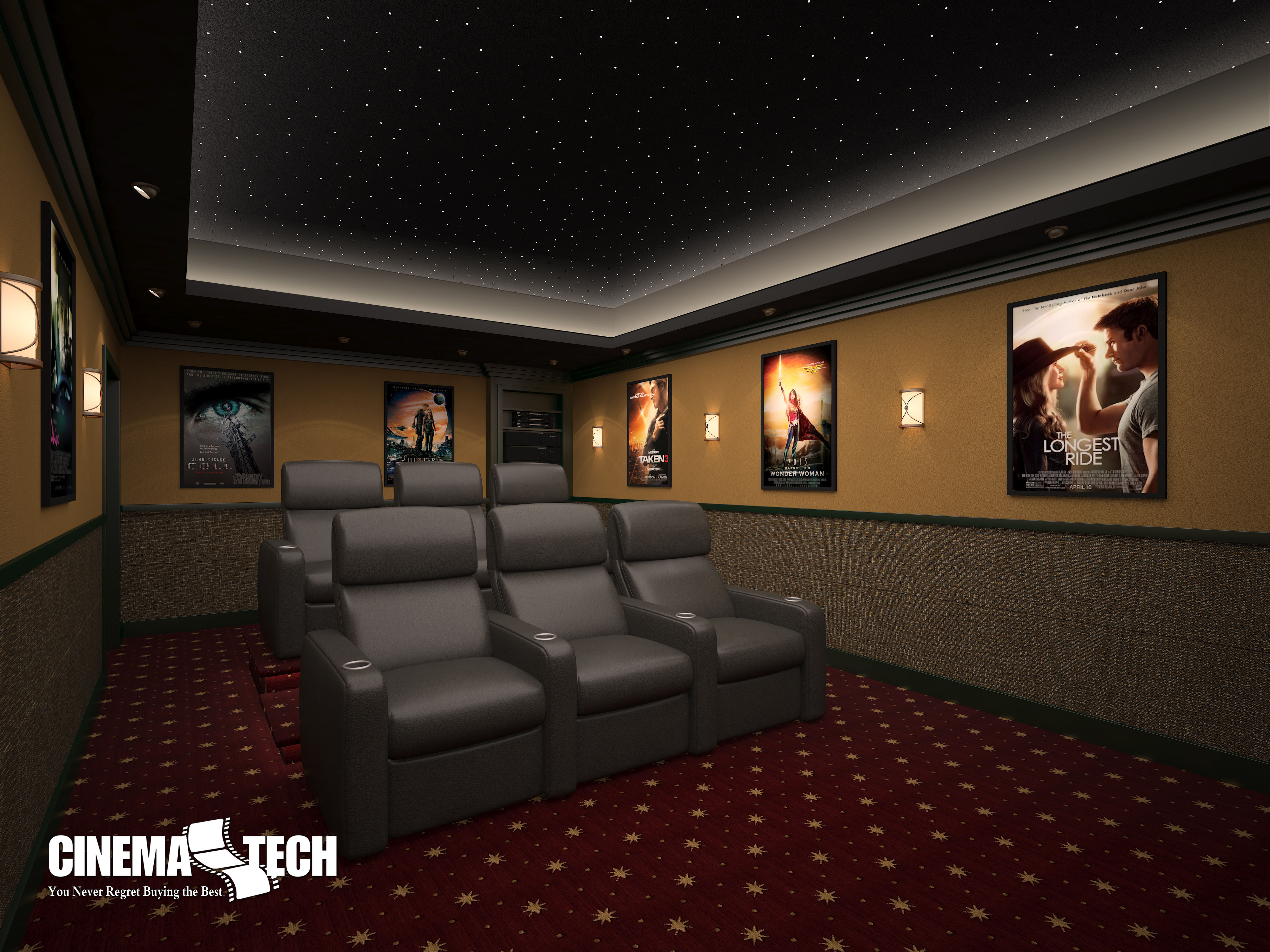 The Makings of a Cutting Edge Home Theater